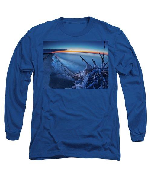 Blue Hour Fisheye Long Sleeve T-Shirt