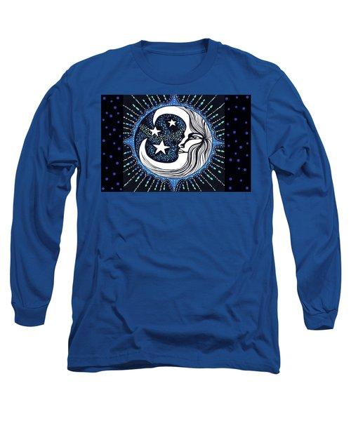 Blue Moon Greeting Card 02 Long Sleeve T-Shirt