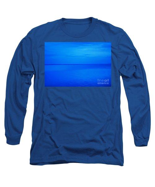 Blue Ocean Twilight Long Sleeve T-Shirt
