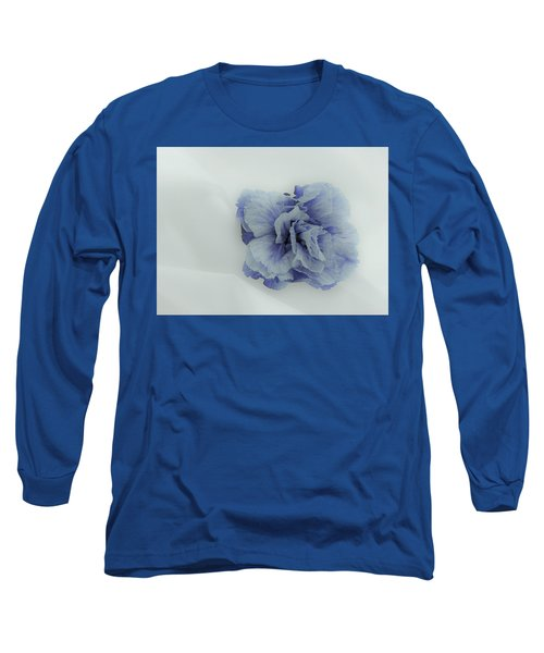 Blue On Blue Long Sleeve T-Shirt