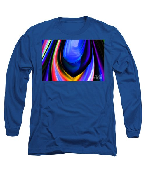Blue Orb Long Sleeve T-Shirt