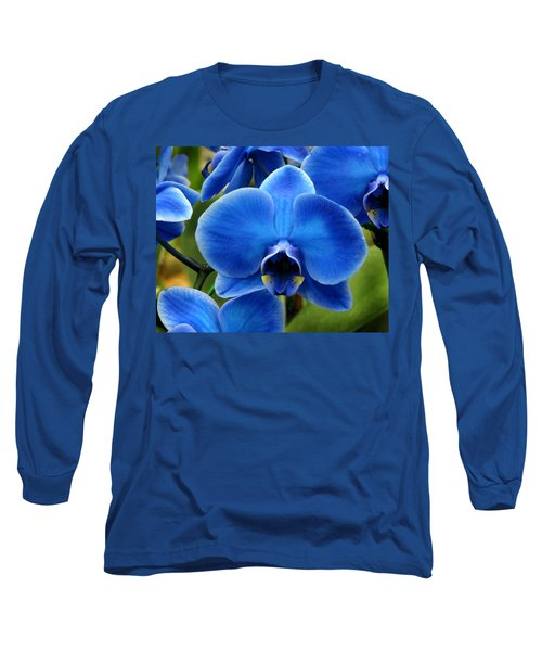 Blue Orchid Long Sleeve T-Shirt