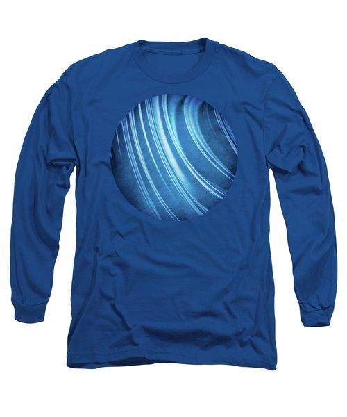 Blue Ridges Fractal Long Sleeve T-Shirt