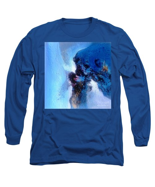 Blue Sea Long Sleeve T-Shirt by Sanjay Punekar