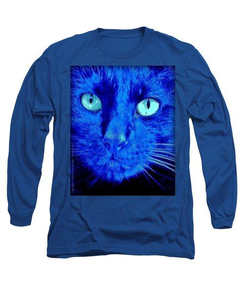 Blue Shadows Long Sleeve T-Shirt by Al Fritz
