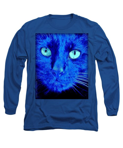 Long Sleeve T-Shirt featuring the photograph  Blue Shadows by Al Fritz