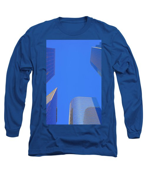 Blue Sky Over Bunker Hill Long Sleeve T-Shirt