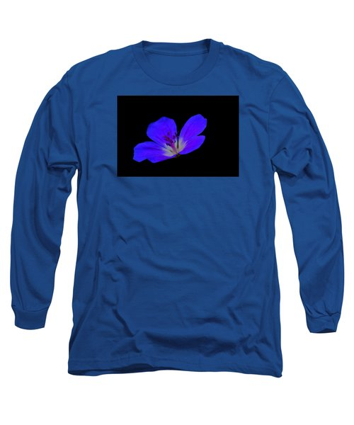 Blue Stamen Long Sleeve T-Shirt
