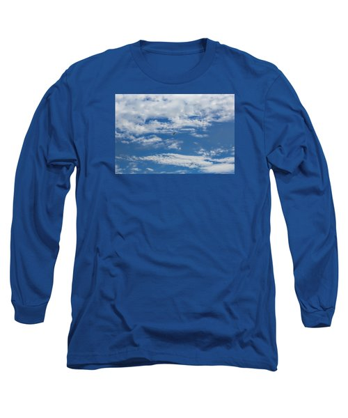 Long Sleeve T-Shirt featuring the photograph Blue White by Leif Sohlman