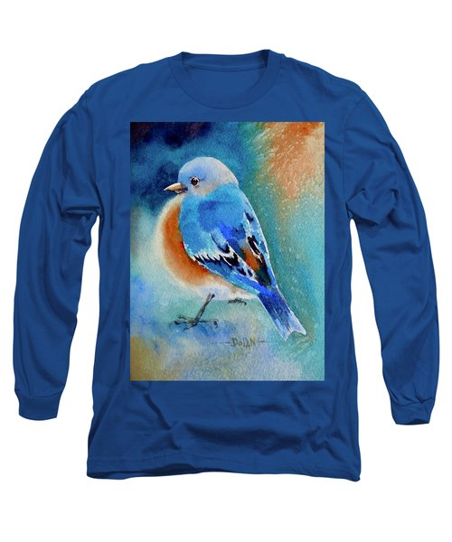 Bluebird #4 Long Sleeve T-Shirt