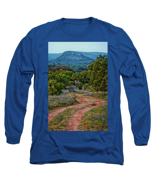 Bluebonnet Road Long Sleeve T-Shirt