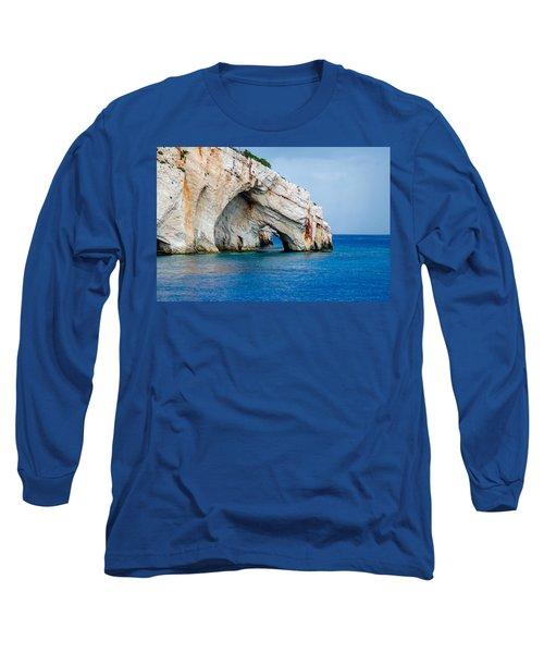 Bluecaves 3 Long Sleeve T-Shirt by Rainer Kersten