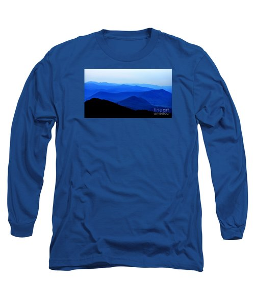 Blueridge Mountains - Parkway View Long Sleeve T-Shirt by Scott Cameron