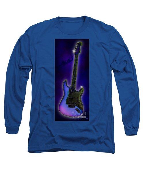Long Sleeve T-Shirt featuring the digital art Blues  by Nick Gustafson