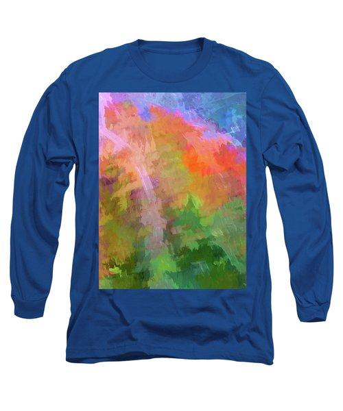 Blurry Painting Long Sleeve T-Shirt