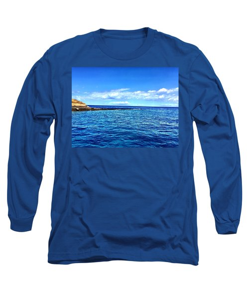 Long Sleeve T-Shirt featuring the photograph Boat Life 1 by Michael Albright