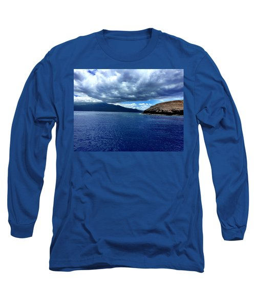 Long Sleeve T-Shirt featuring the photograph Boat View 3 by Michael Albright