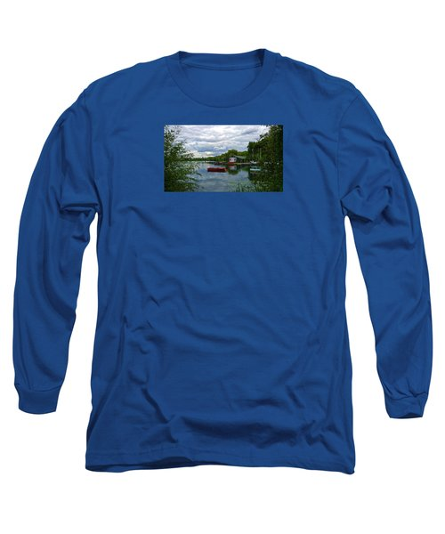 Boathouse Long Sleeve T-Shirt by Anne Kotan
