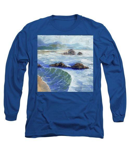 Bodiga Bay #2 Long Sleeve T-Shirt by Randy Sprout