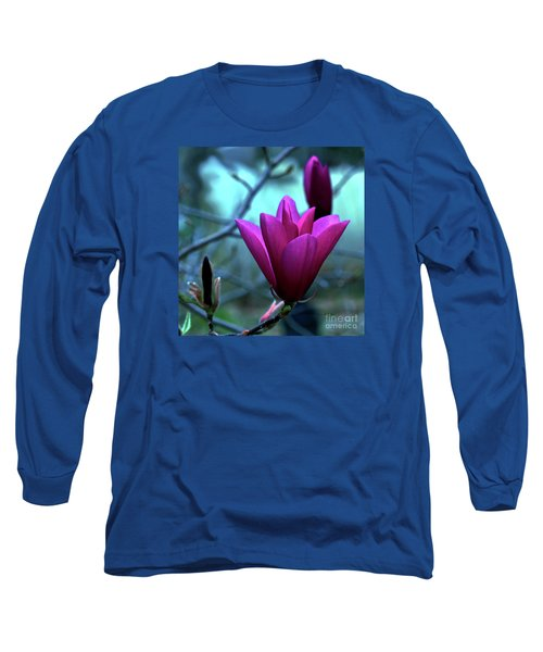 Bold Delicacy Long Sleeve T-Shirt by Patricia Griffin Brett