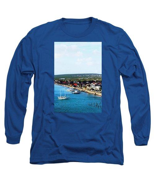 Bonaire Long Sleeve T-Shirt by Infinite Pixels