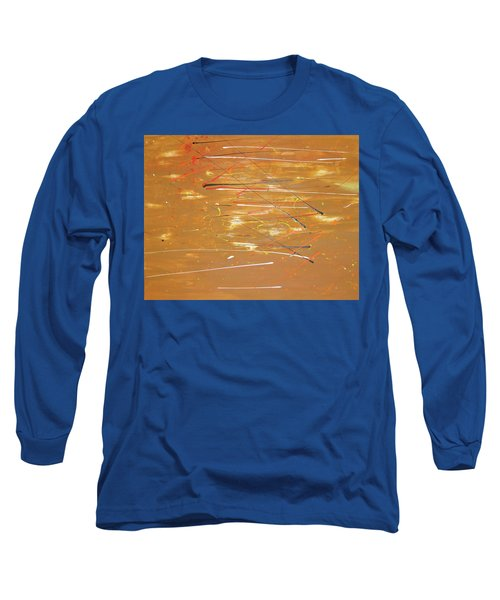Long Sleeve T-Shirt featuring the painting Born Again by Michael Lucarelli
