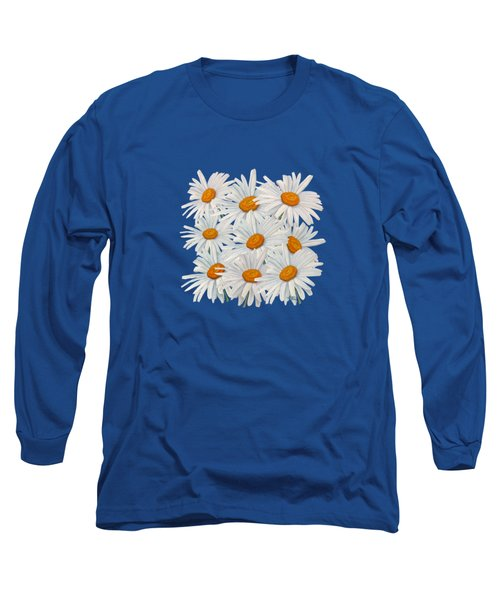 Bouquet Of White Daisies Long Sleeve T-Shirt