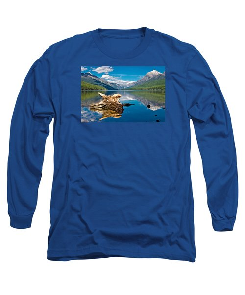 Bowman Lake 1, Glacier Nat'l Park Long Sleeve T-Shirt