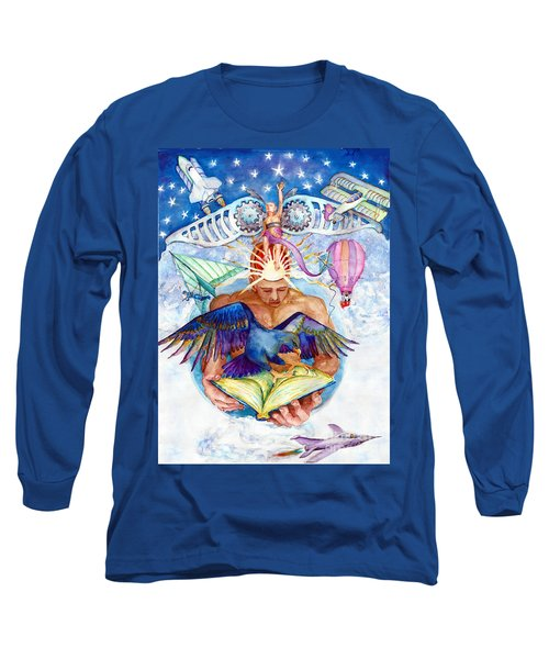 Brain Child Long Sleeve T-Shirt by Melinda Dare Benfield