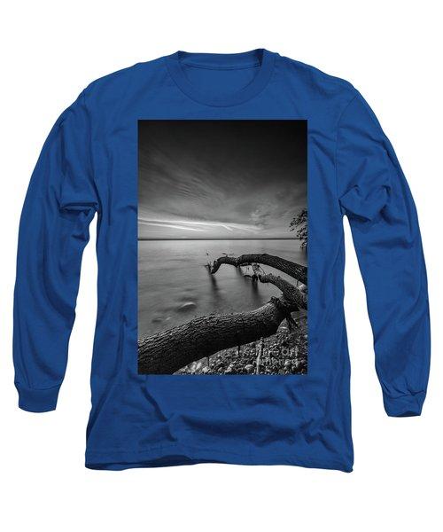 Branching Out - Bw Long Sleeve T-Shirt
