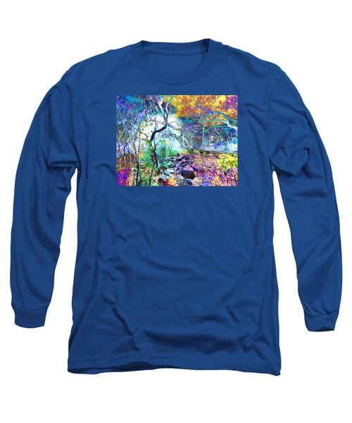 Brazilian Surreal Forest Long Sleeve T-Shirt by Beto Machado