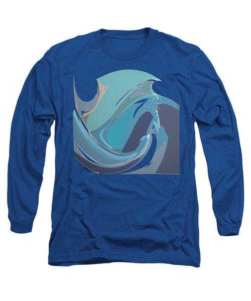 Breaking Waves Long Sleeve T-Shirt