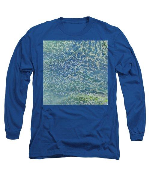 Breeze On Ocean Waves Long Sleeve T-Shirt