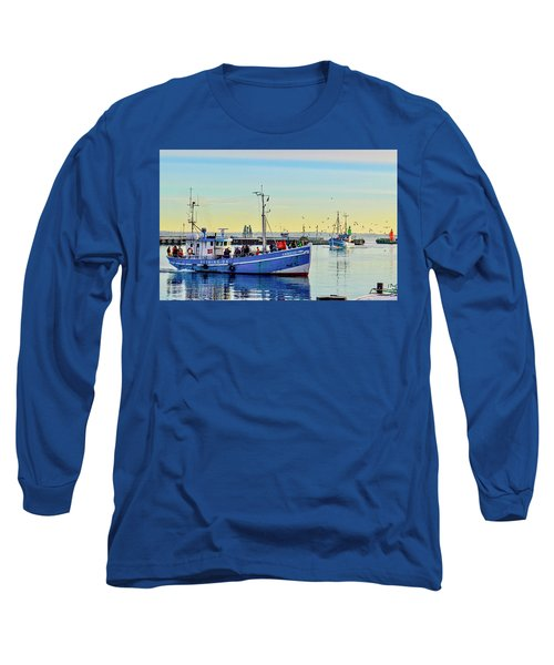 Bringing In The Day's Catch Long Sleeve T-Shirt