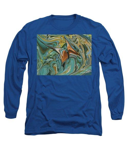 Bronze Butterfly Long Sleeve T-Shirt