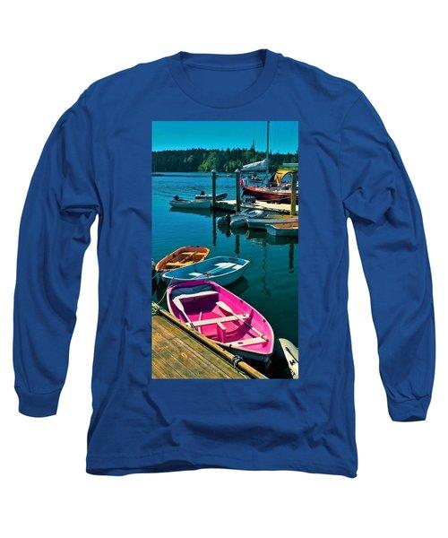 Brooklyn Harbor Long Sleeve T-Shirt