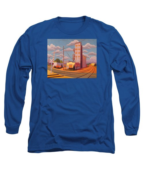 Broomfield Grain Elevator Long Sleeve T-Shirt