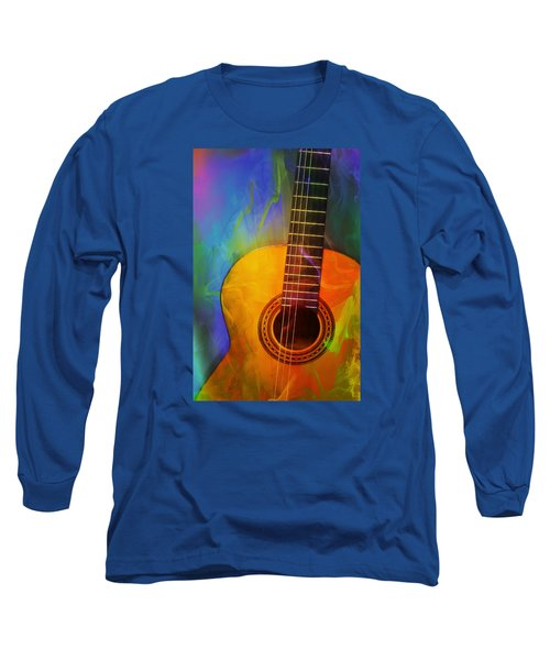 Brushwork Long Sleeve T-Shirt