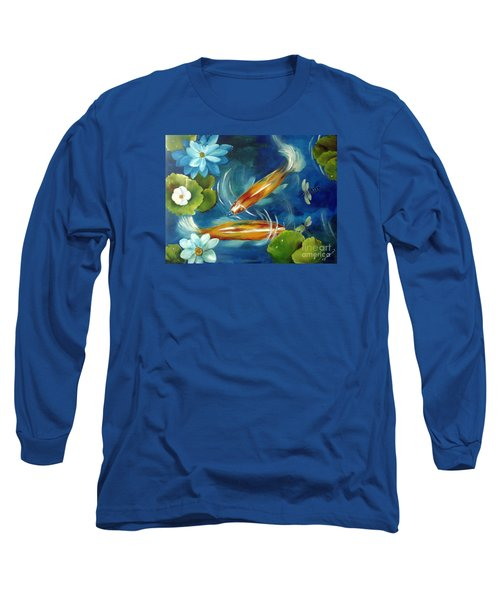 Bubble Maker Long Sleeve T-Shirt by Carol Sweetwood