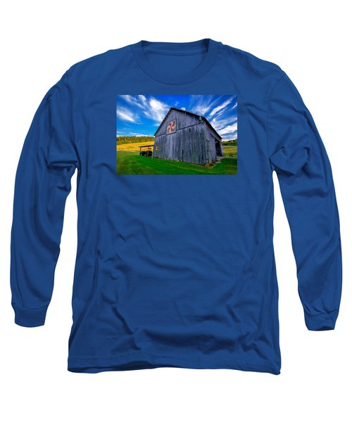 Buckeye Barn 2 Long Sleeve T-Shirt by Brian Stevens