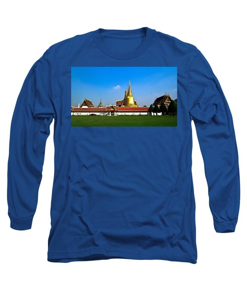 Buddhaist Temple Long Sleeve T-Shirt