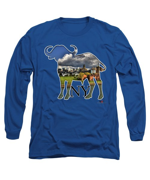 Buffalo Ny Along The Marina Long Sleeve T-Shirt