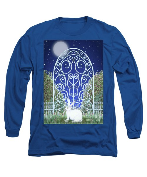 Bunny, Gate And Moon Long Sleeve T-Shirt