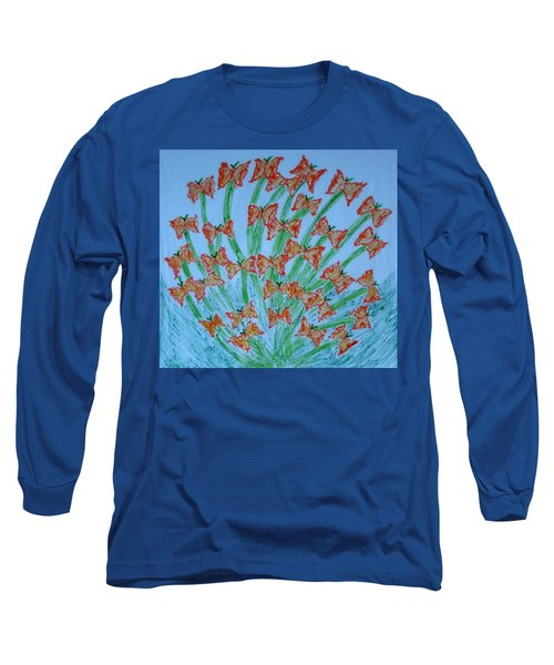 Butterfly Motion Long Sleeve T-Shirt