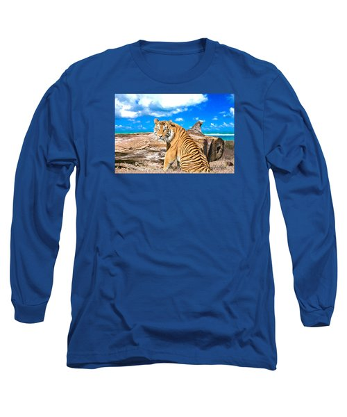 By The Sea Long Sleeve T-Shirt by Judy Kay