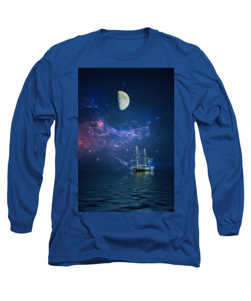 By Way Of The Moon And Stars Long Sleeve T-Shirt