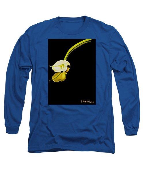 Calla Lily Reflection Long Sleeve T-Shirt