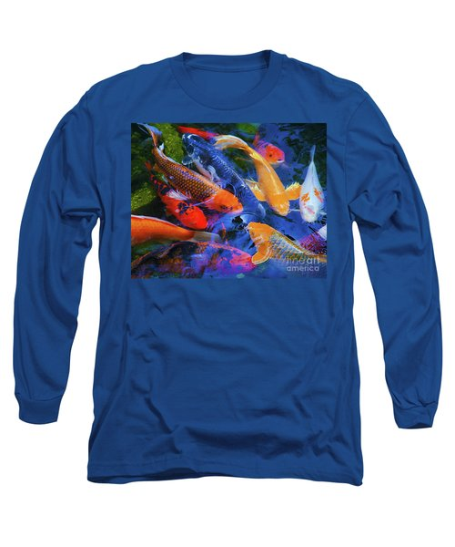 Calm Koi Fish Long Sleeve T-Shirt