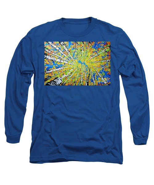Calming Canopy Long Sleeve T-Shirt by Jackie Carpenter