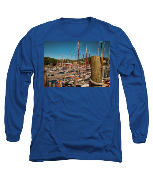 Camden Harbor Long Sleeve T-Shirt